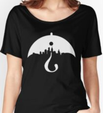GOTHAM Two Sides of the Same Coin Women's Relaxed Fit T-Shirt