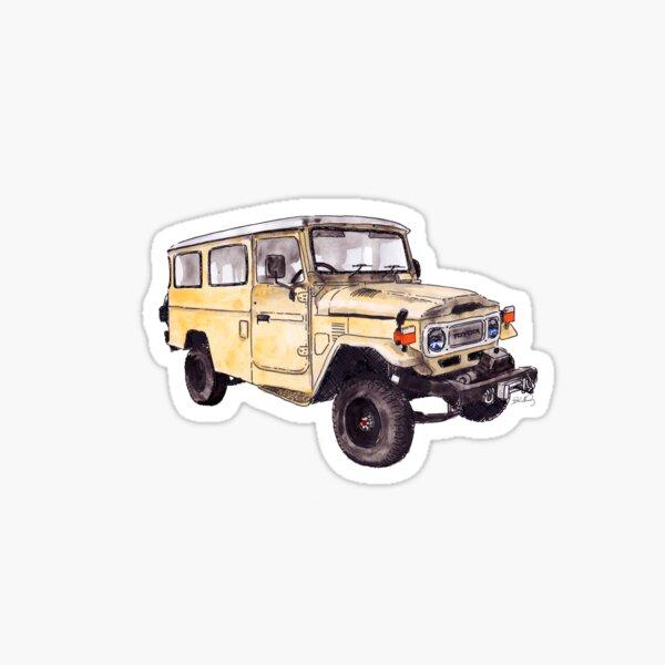 1983 FJ45 Toyota Landcruiser Troopcarrier Sticker