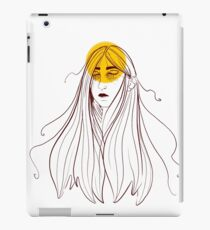 Only Sometimes Here iPad Case/Skin