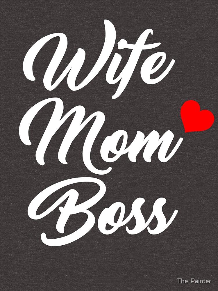 f5365443fb42 Mom shirts wife mom boss shirt mothers day gift mothers shirt funny mom  shirt gift for