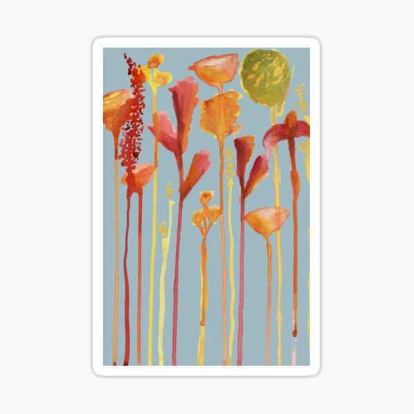Drips of Flowers Sticker