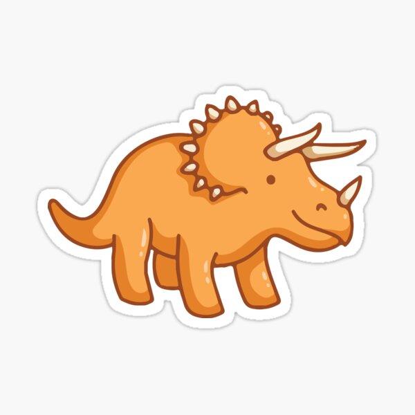 Herbivore Triceratops Sticker