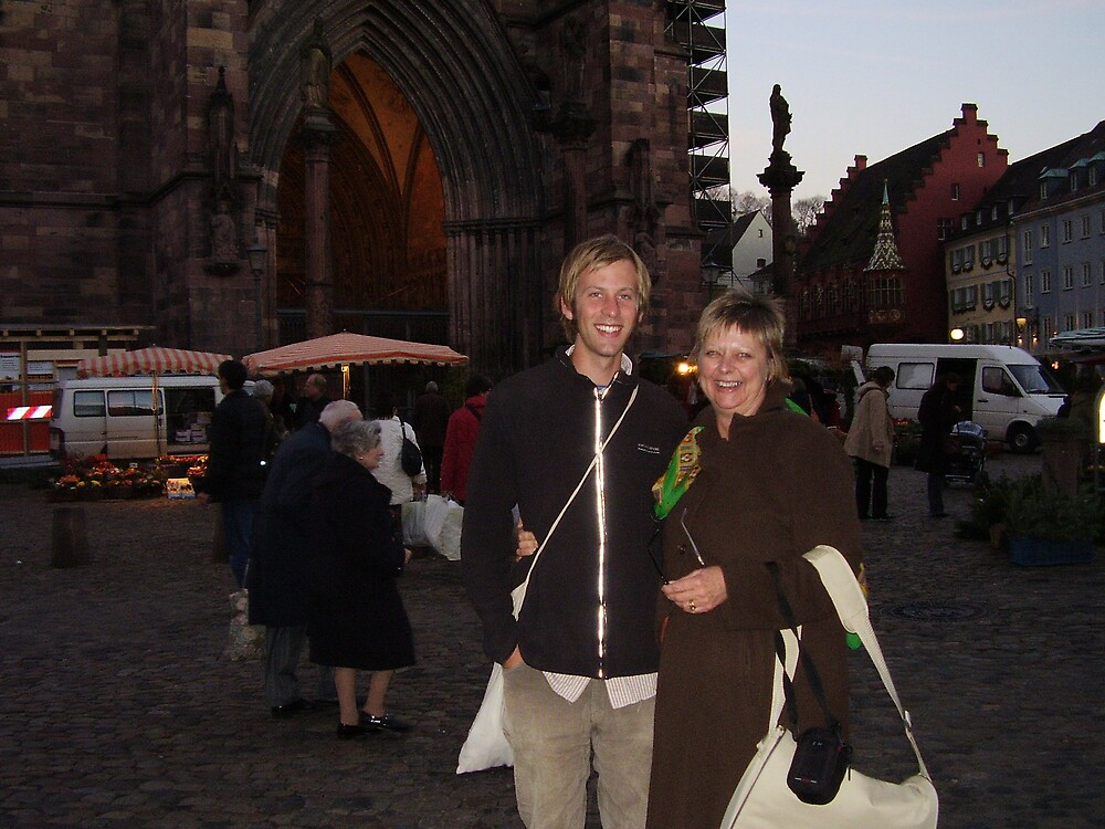 mum and david in germany by vonnyfisher