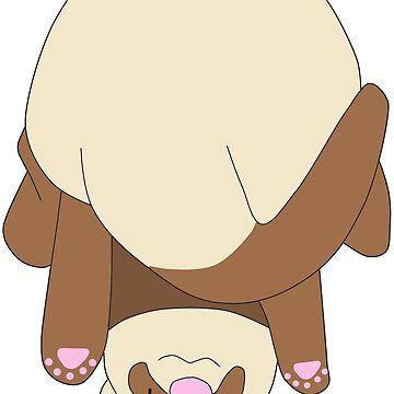 Ferret Butt by SydneyLudwick