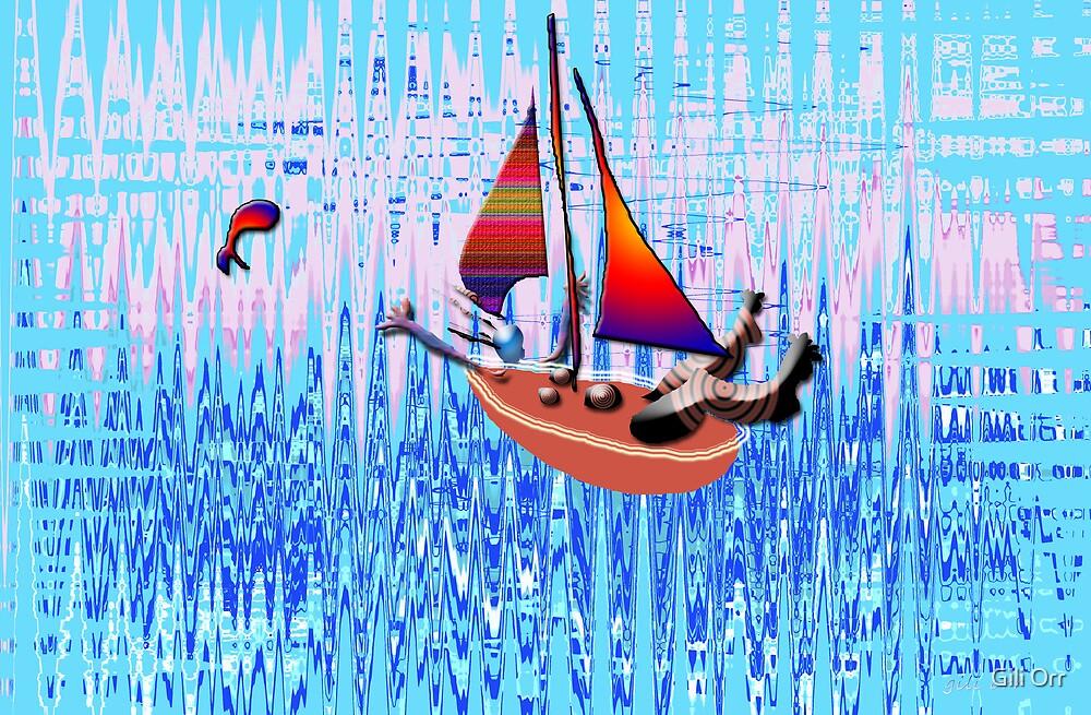 Floating by Gili Orr