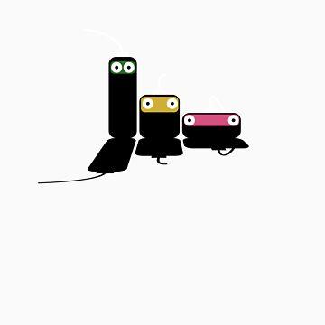 The USB Ninjas by bassthumb
