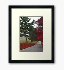 Road Show Framed Print