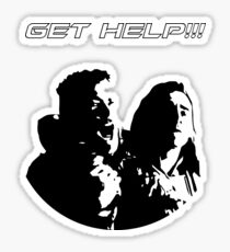 Get Help! - Thor and Loki Sticker