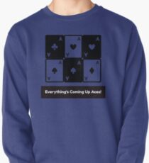 Asexual Asexualise Everything's Coming Up Aces! Asexual Ace Playing Cards Pullover