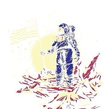 I Need My Space Astronaut Shirt  by teeoftheday