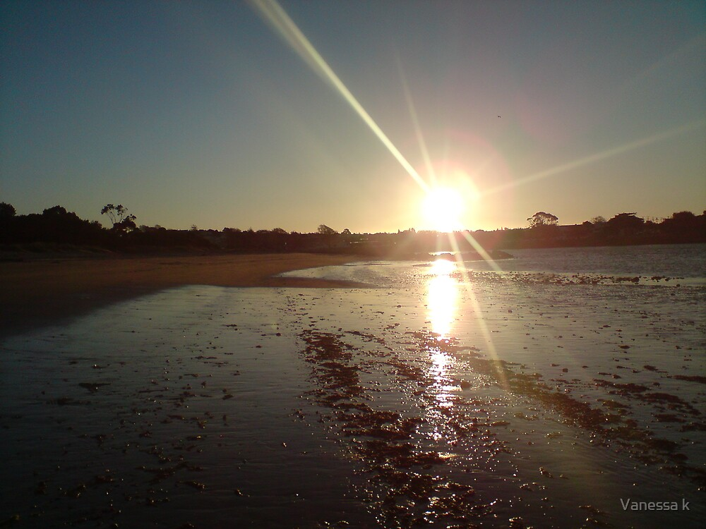 Sunset by Vanessa k