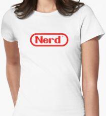 Nerd Women's Fitted T-Shirt