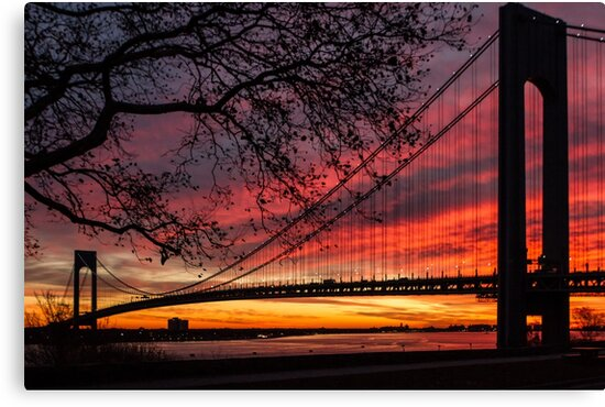 Sunrise at the Bridge by Sean Sweeney