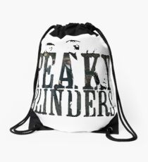 PEAKY BLINDERS - Men behind the name Drawstring Bag