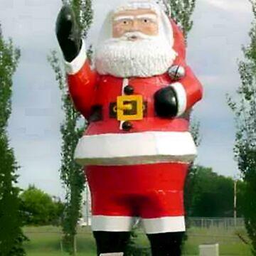 Santa at Watson,Sask,Canada by MaeBelle