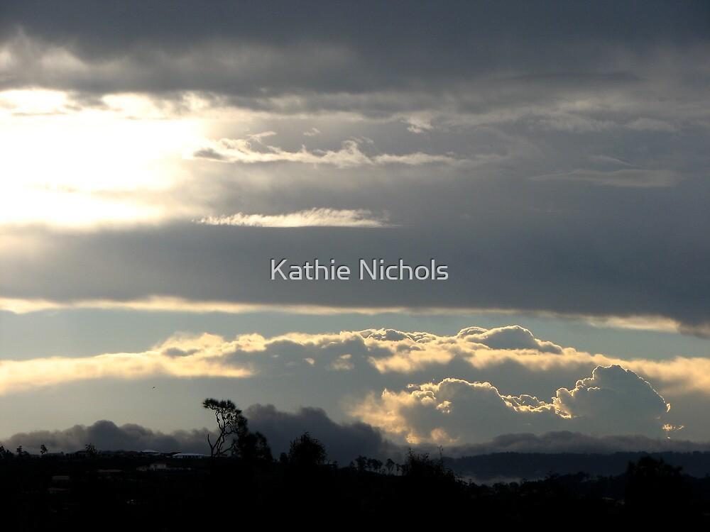 Summer Storm over Gold Coast Hinterland by Kathie Nichols