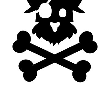 Pirate Pup - Black by becktacular