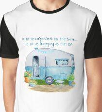 A little caravan by the sea Graphic T-Shirt