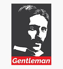 Gentleman Tesla Photographic Print