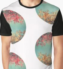 Gold and pink Graphic T-Shirt
