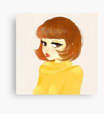 Velma Dinkley appreciation Canvas Print