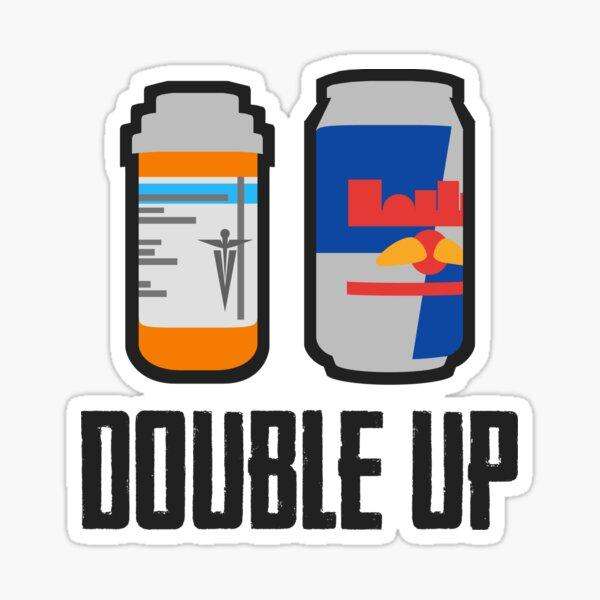 PUBG - Double Up! - Analgésique et boisson énergisante Sticker