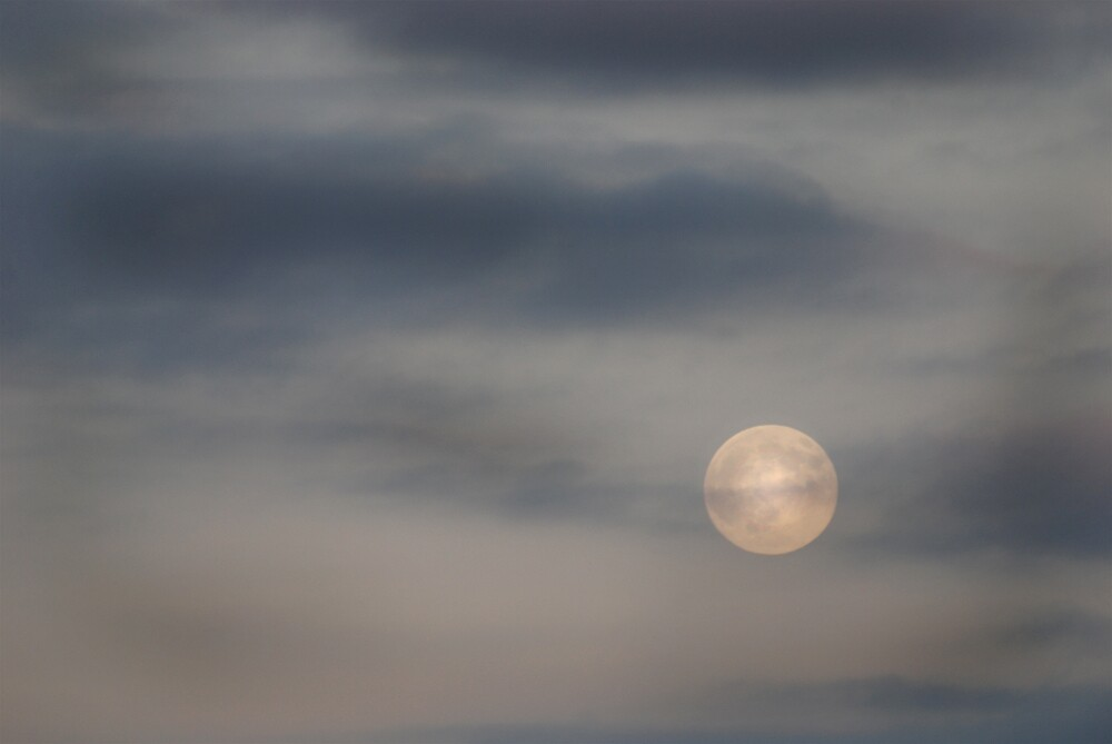 Moon Over Clay County by Robert Baker