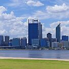 Perth Skyline by Graeme  Hyde