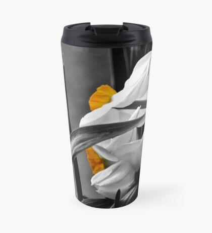 Just a bit of yellow Travel Mug