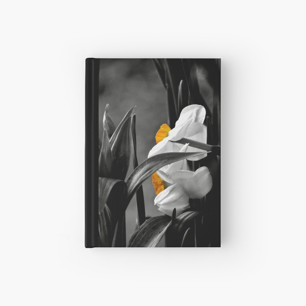 Just a bit of yellow Hardcover Journal