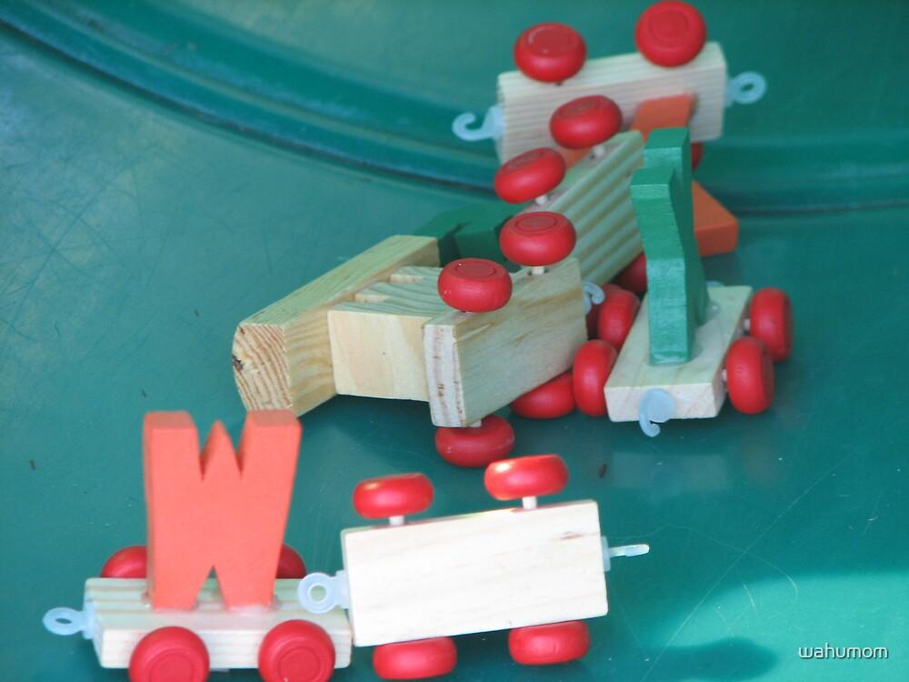 train wreck.... by wahumom