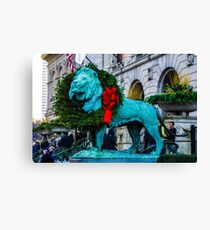 Lion at Heart Canvas Print