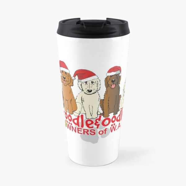 Groodle & Oodle Club Christmas Travel Mug