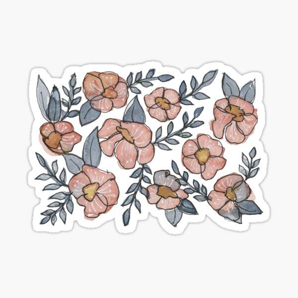 A Little Pink Florals Sticker