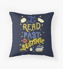 I Read Past my Bedtime Floor Pillow