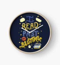 I Read Past my Bedtime Clock