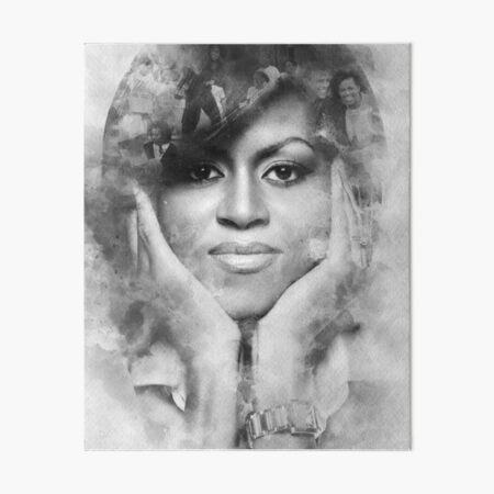 Michelle is Free Art Board Print