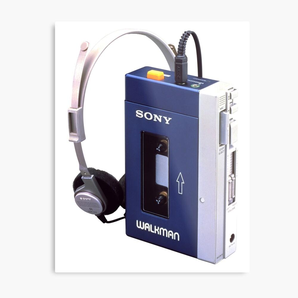 Sony Walkman Metal Print