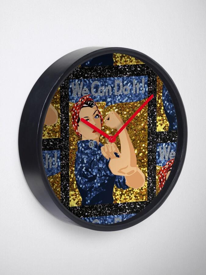Vista alternativa de Reloj glitter rosie el remachador