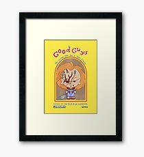 Good Guys Evil Chucky Framed Print