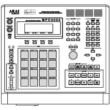 Sampler MPC 3000 by nostunts