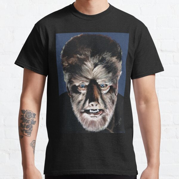 The Wolfman - Lon Chaney Classic T-Shirt