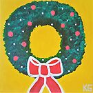 Holiday Wreath by Kamira Gayle