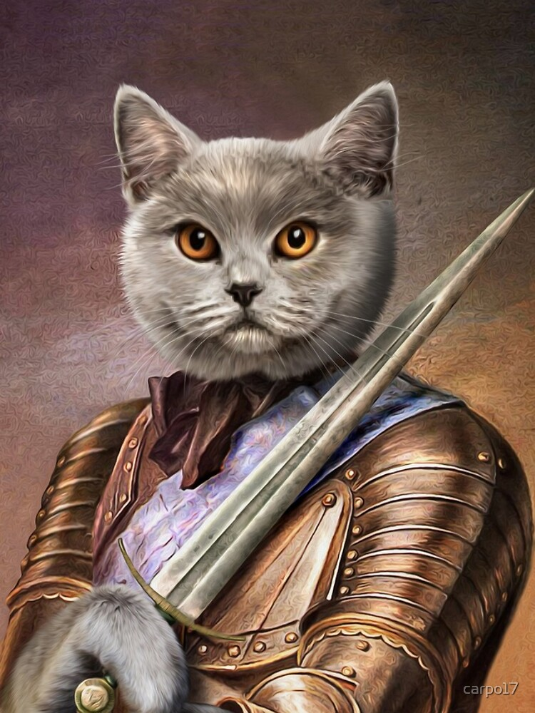 Persian Cat Portrait - Balou by carpo17