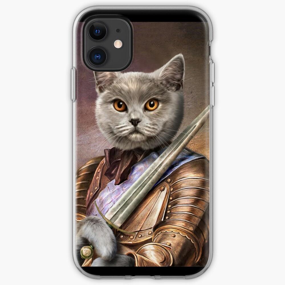 Persian Cat Portrait - Balou iPhone Case & Cover