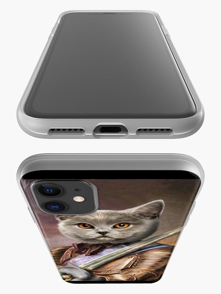 Alternate view of Persian Cat Portrait - Balou iPhone Case & Cover