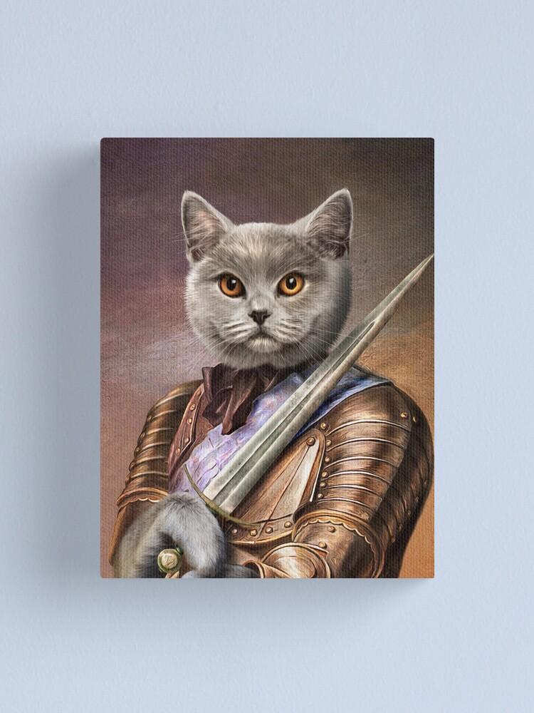 Alternate view of Persian Cat Portrait - Balou Canvas Print