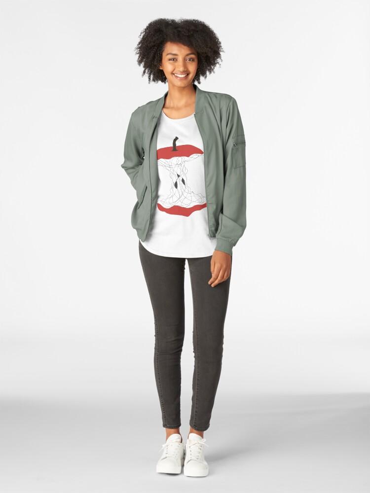 Alternate view of apple Premium Scoop T-Shirt