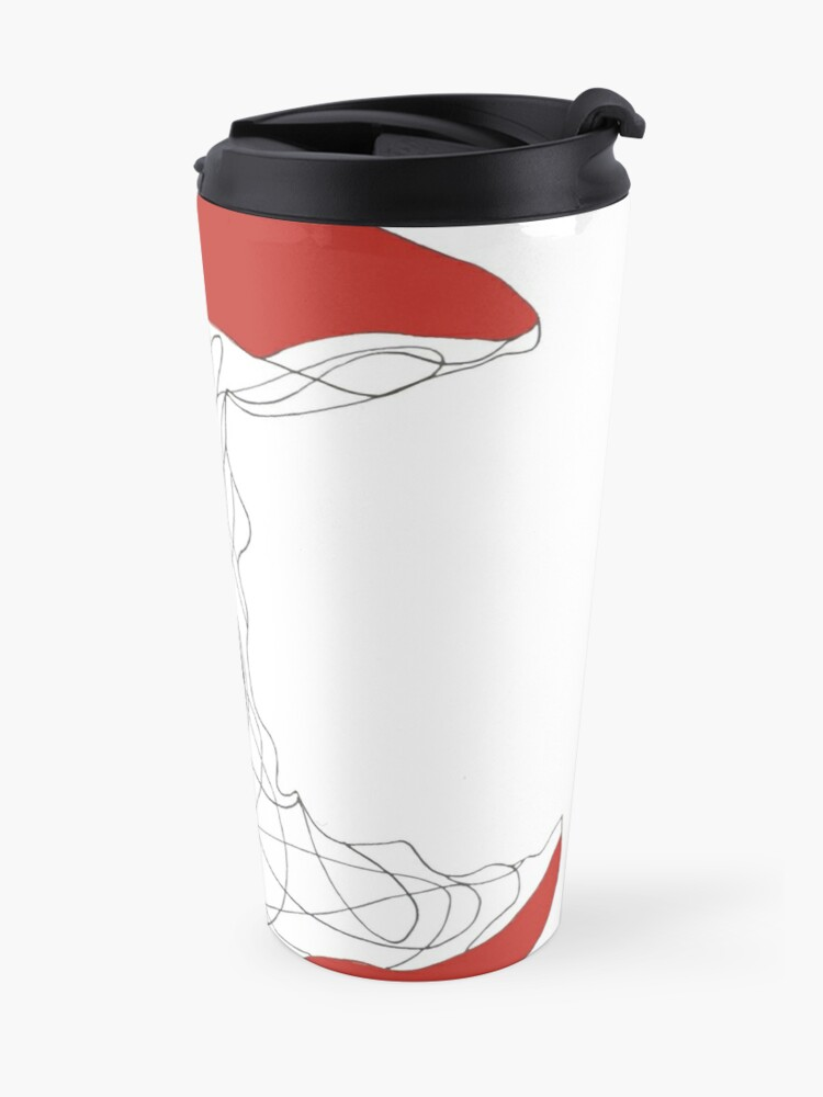 Alternate view of apple Travel Mug