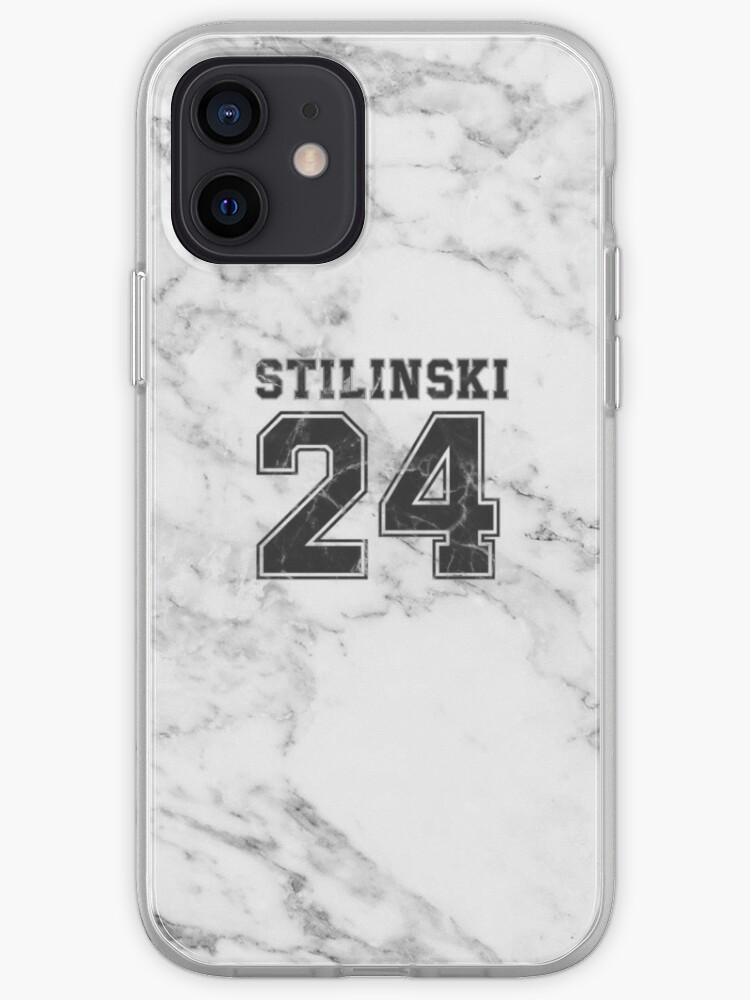Stilinski noir et blanc 24   Coque iPhone
